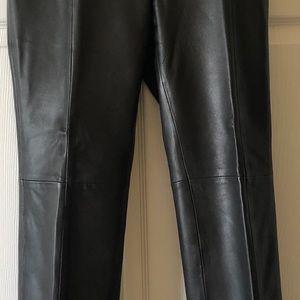 Beautiful Black Leather Pants